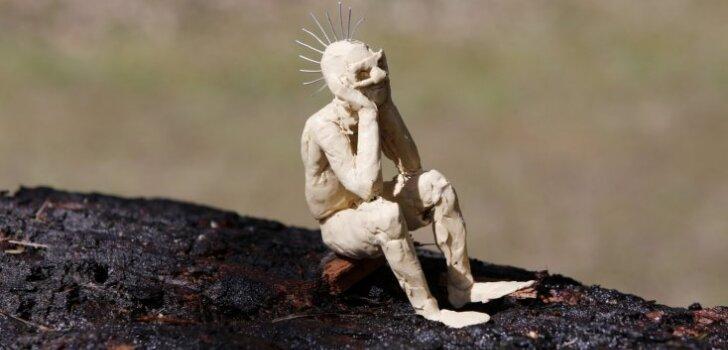 ФОТО: В Риге проходит Международный фестиваль деревянных скульптур