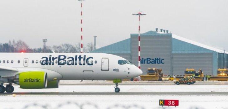 ВИДЕО: Как выглядит полет из кабины пилота нового CS300, принадлежащего AirBaltic