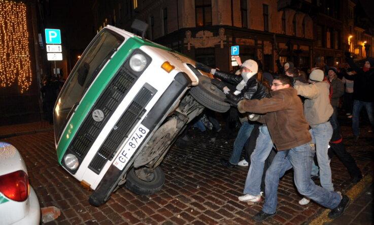 2009 год: Беспорядки в Старой Риге, инаугурация Обамы и землетрясения в Латвии