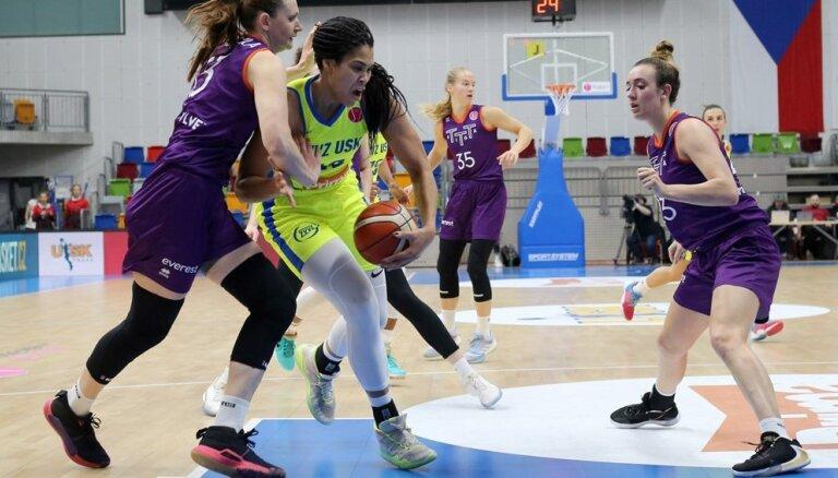 'TTT Rīga' Prāgā piedzīvo sagrāvi FIBA Eirolīgas spēlē