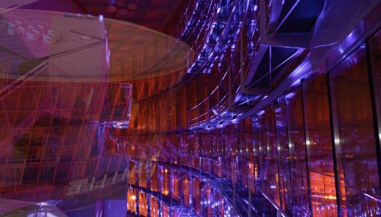 Kosmiska elektronika un saulriets Liepājā – koncerts uz 'Lielā dzintara' jumta. Ieraksts