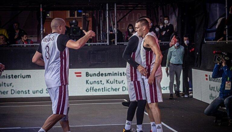 Latvijas un Lietuvas derbijā turpināsies cīņa par olimpisko sapni 3x3 basketbolā