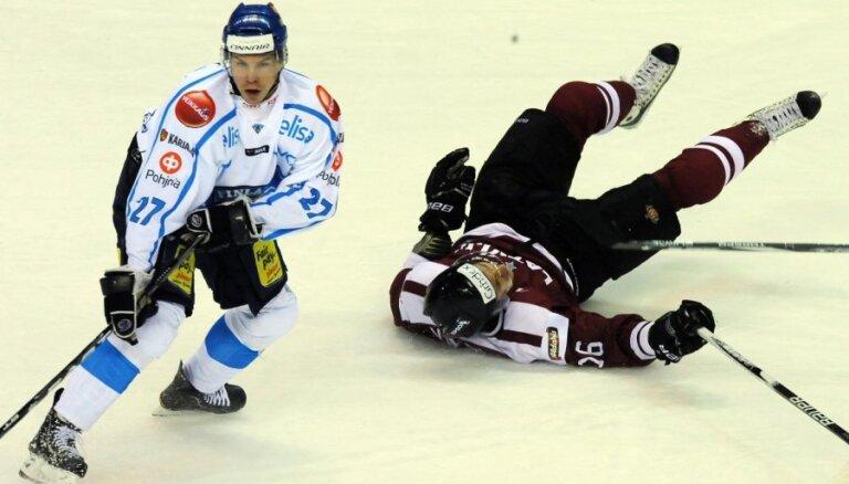 Latvijas un Somijas spēle pirms sešiem gadiem ir pēdējā PČ vēsturē bez gūtajiem vārtiem
