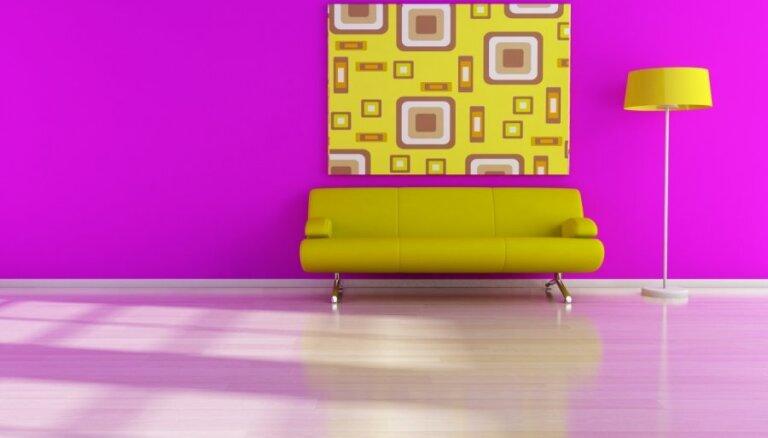 Spilgto krāsu cienītājiem – idejas interjera papildināšanai ar neona krāsām