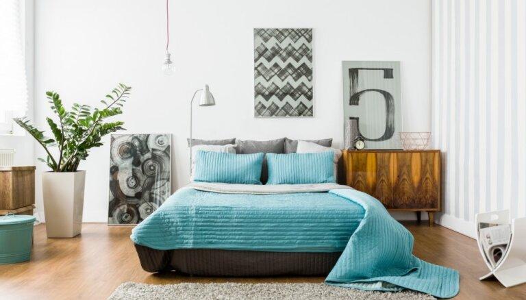 No gultas izvēles līdz nevēlamajiem aksesuāriem: padomi guļamistabas iekārtošanai