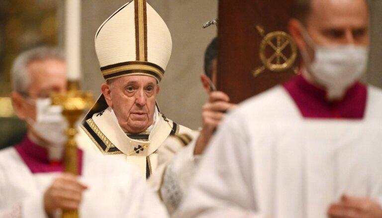 Папа Франциск призвал делиться вакцинами от COVID-19