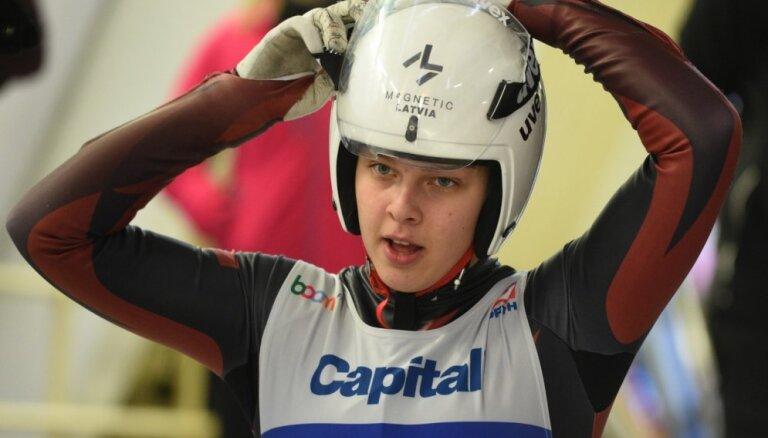 Aparjode Siguldā izcīna bronzu Eiropas čempionāta sprinta sacensības
