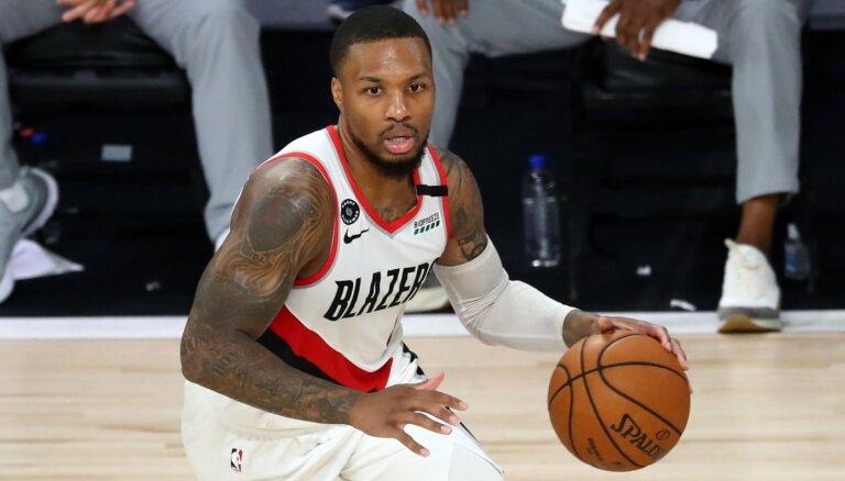 'Trail Blazers' atgūstas spēles galotnē un izcīna pēdējo ceļazīmi uz NBA 'play-off'