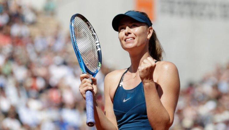 Ролан Гаррос: Шарапова победила впервые за три года, Серена — впервые после родов