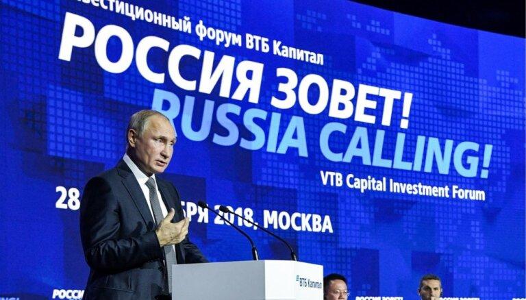 Putins Krievijas uzbrukumu Ukrainas kuģiem dēvē par 'nelielu incidentu'
