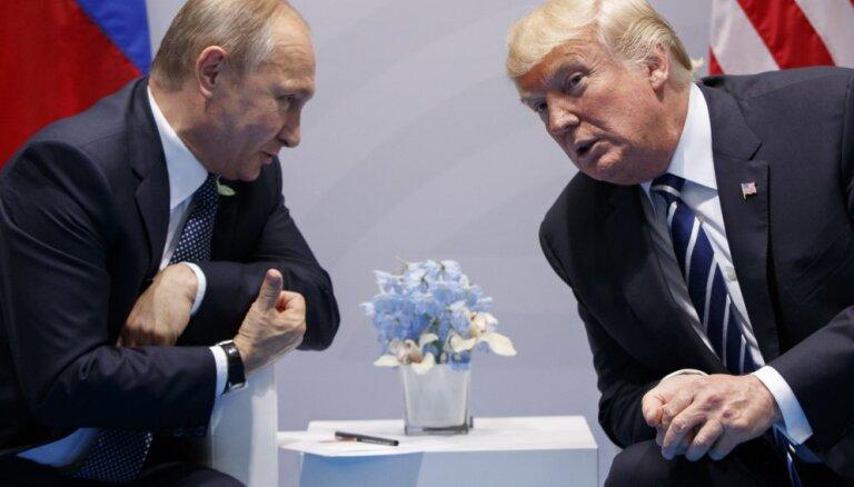 Трамп: больших ожиданий от встречи с Путиным нет