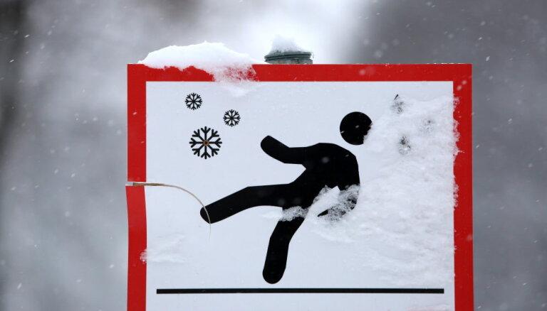 В Латвию пришли сильные морозы: местами похолодало до -23 градусов