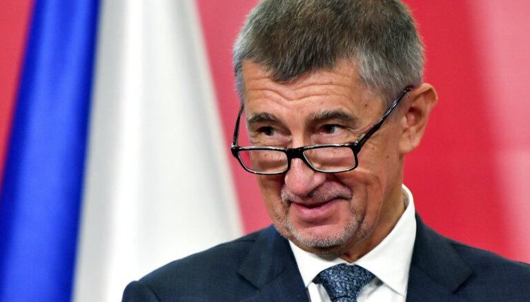 Čehu premjeru Babišu sagaida neuzticības balsojums