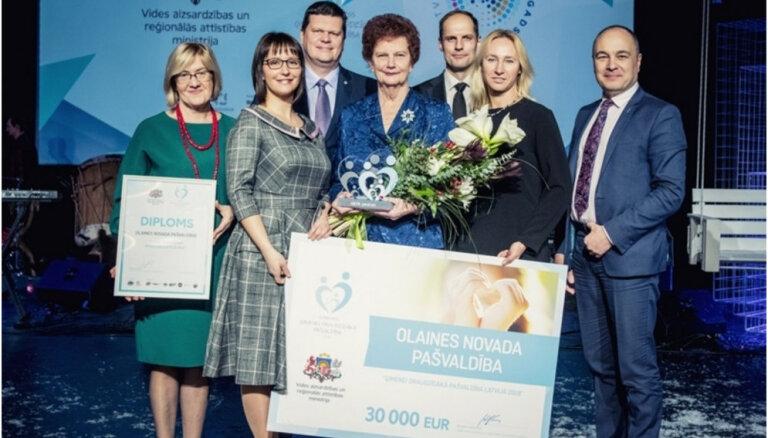 Par ģimenēm draudzīgāko pašvaldību Latvijā atzīts Olaines novads