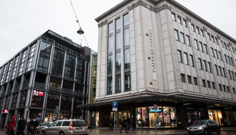 В торговом центре Galerija centrs появится терраса на крыше