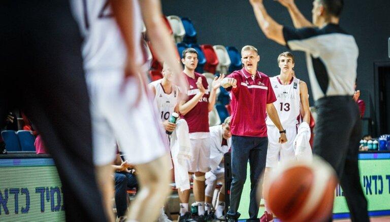 Latvijas U-20 izlases galvenais treneris: pret Lietuvu aizvadījām sliktāko spēli turnīrā