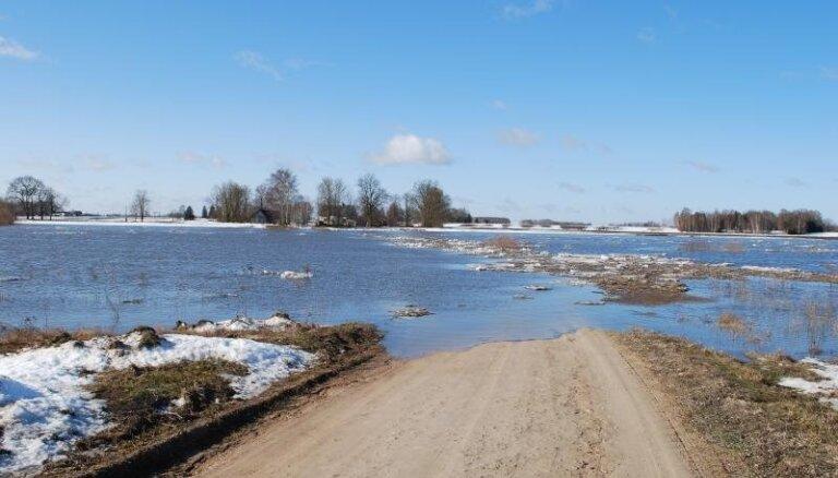 Kozlovskis: šogad ir mazāks plūdu risks nekā iepriekšējos gados