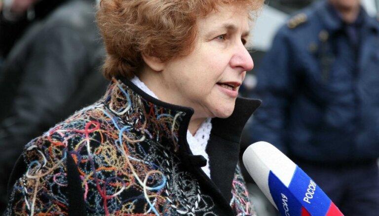 Ždanoka noliedz, ka viņas līdzdibinātā organizācija 16.marta pasākumiem būtu saņēmusi finansējumu no Krievijas