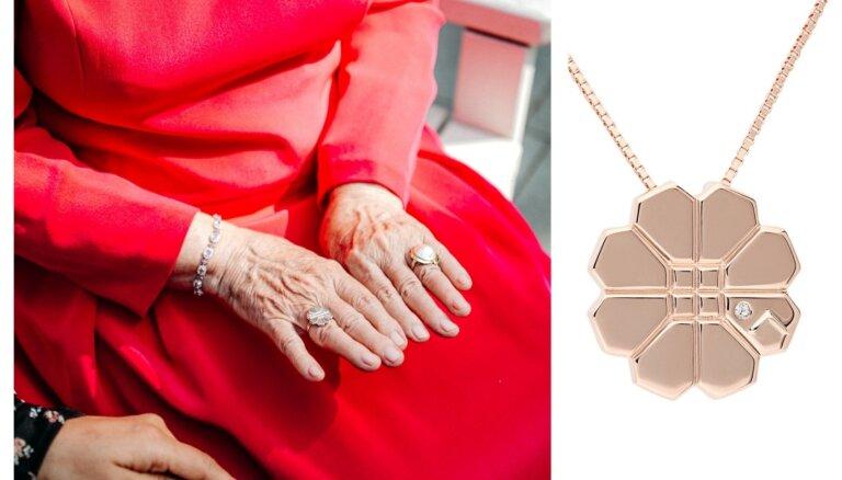 ФОТО. Кольцо, серьги и подвеска — новые изделия в коллекции украшений дизайна Вайры Вике-Фрейберги
