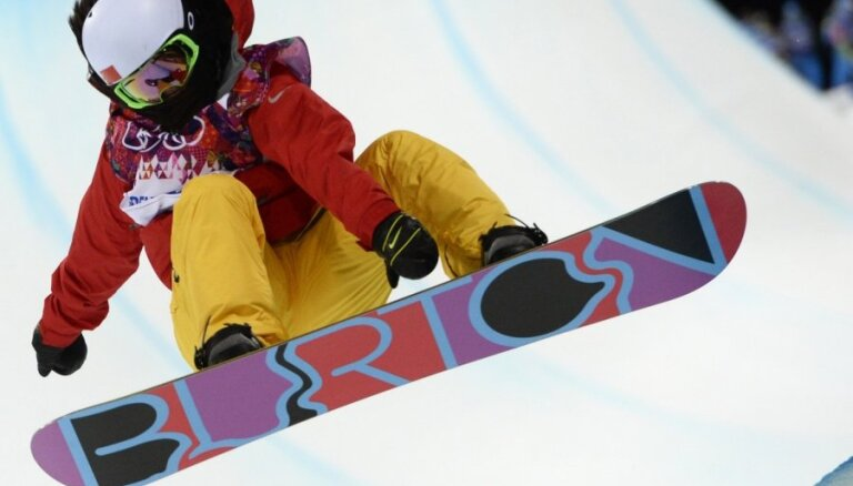XXII Ziemas olimpisko spēļu rezultāti snovbordā rampā sievietēm (12.02.2014.)