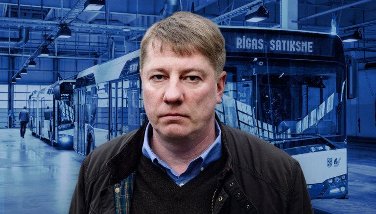 DELFI TV: О скандале в Rīgas satiksme рассказывает Анрийс Матисс