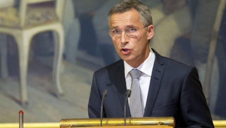 Генсек НАТО и министры обороны ЕС обсудят в Риге гибридную войну