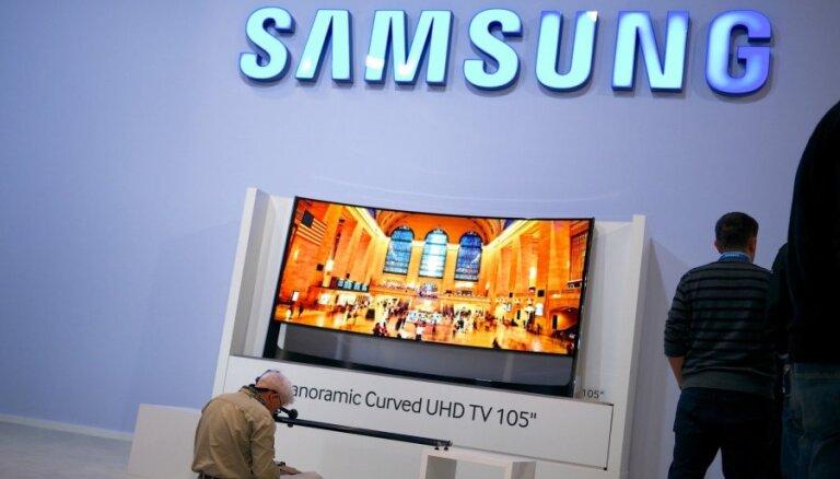 'Samsung' iesūdzējusi tiesā 'Huawei' par patentu tiesību pārkāpumiem