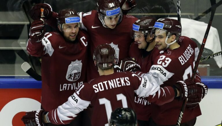Сборная Латвии одолела Данию и вышла в четвертьфинал чемпионата мира