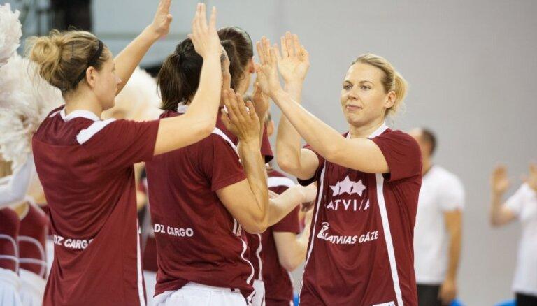 Ar klusu mērķi par Rio – Latvijas basketbolistes uzsāk Eiropas čempionātu
