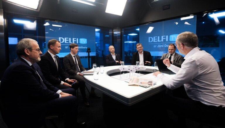 'Delfi TV ar Domburu': 'Šlesera marionetes' jeb Gobzema krahs. Pilns ieraksts