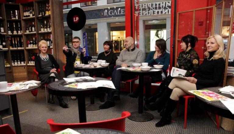 Foto: Ar preses konferenci atklāj Hardija Lediņa kafejnīcu