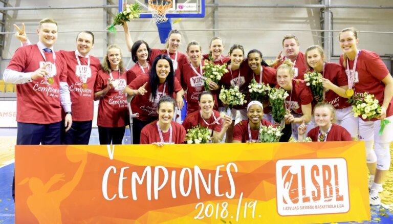 'TTT Rīga' ar 18. titulu turpina savu dominanci Latvijā