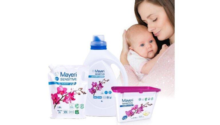 Pieci ieteikumi zīdaiņu apģērbu mazgāšanai