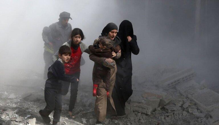 Правозащитники: при ударах коалиции в Сирии погибли более 3000 мирных жителей
