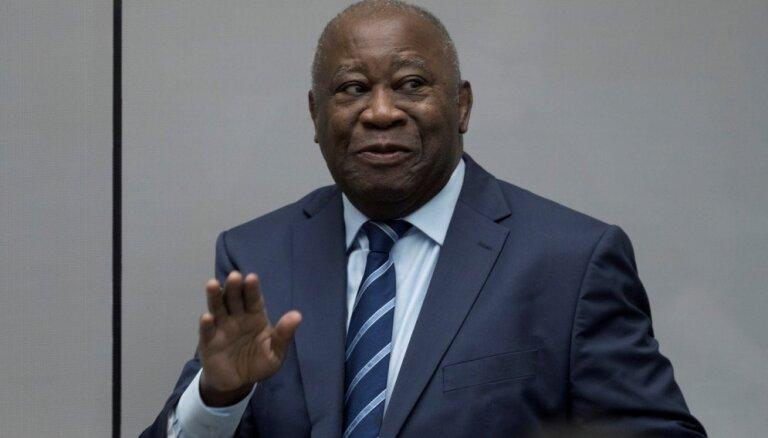 Starptautiskā krimināltiesa atbrīvo Kotdivuāras eksprezidentu Gbagbo