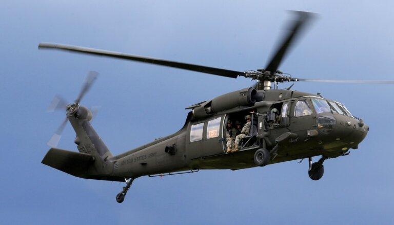 ASV sāk saskaņot helikopteru 'Black Hawk' pārdošanu Lietuvai
