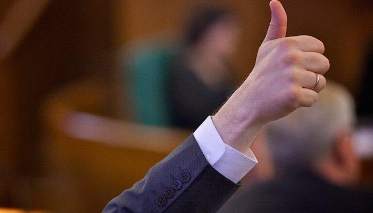 Negrasās atteikties no kritizētajām 'deputātu kvotām'