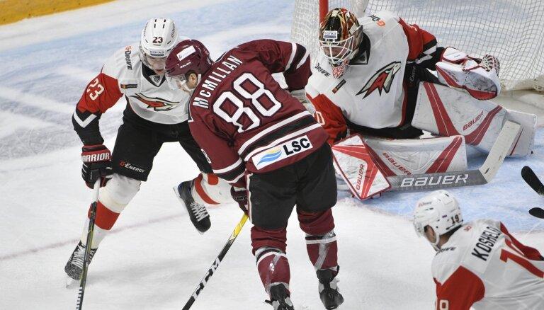 Rīgas 'Dinamo' neveiksmju sēriju lūkos pārtraukt spēlē pret Hārtliju un 'Avangard'