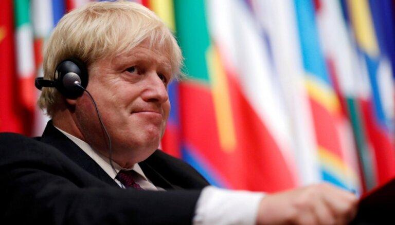 Uzsāks izmeklēšanu pret bijušo Lielbritānijas ārlietu ministru Džonsonu