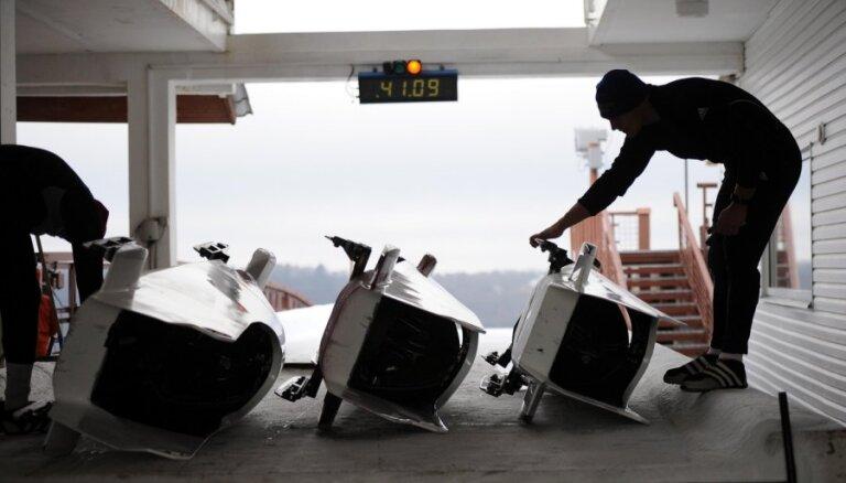 Aizvadīts pirmais Ķīnas čempionāts bobslejā