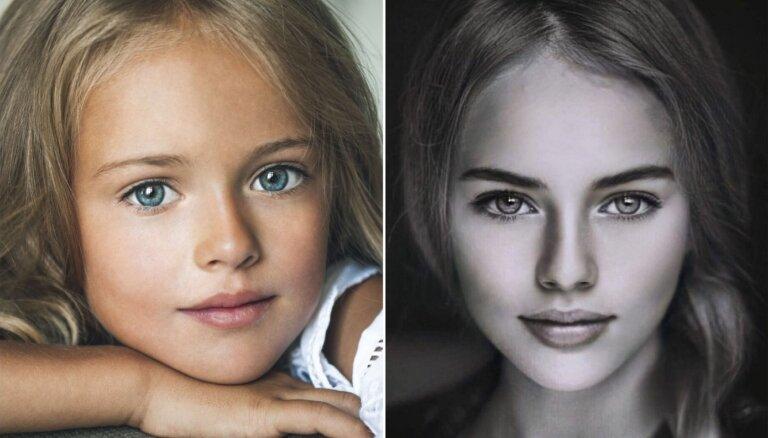 Foto: Kā izaugusi savulaik par skaistāko bērnu pasaulē dēvētā krievu meitenīte