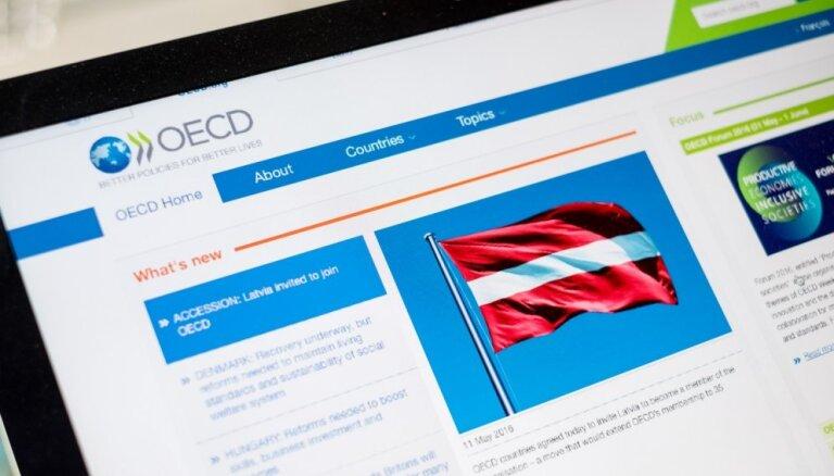 OECD šogad Latvijai prognozē straujāko ekonomikas izaugsmi starp Baltijas valstīm – 4,1%