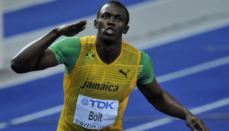 В Кингстоне четыре лучших результата сезона в мире, Болт начал с 9,82