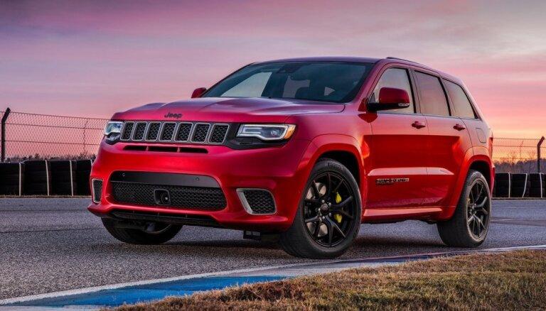 Nākamais 'Jeep Grand Cherokee' top uz 'Alfa Romeo' platformas