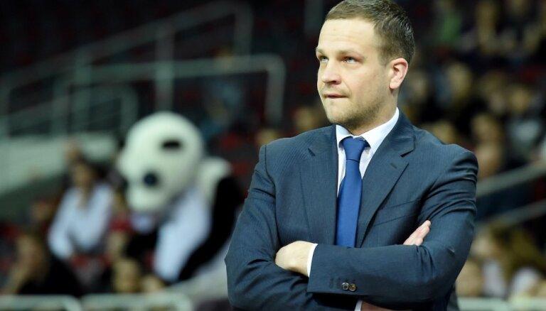 'VEF Rīga' uzvaru guva ar komandas darbu, pārliecināts Gailītis