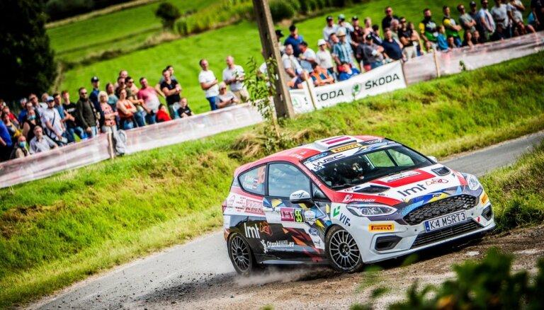 Sesks un Francis 'Ypres Rally Belgium' finišē 6. vietā JWRC ieskaitē
