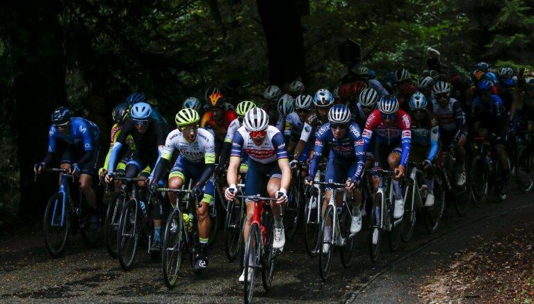 Skujiņš un Neilands gūst UCI punktus leģendārajā 'Liege–Bastogne–Liege' klasikā