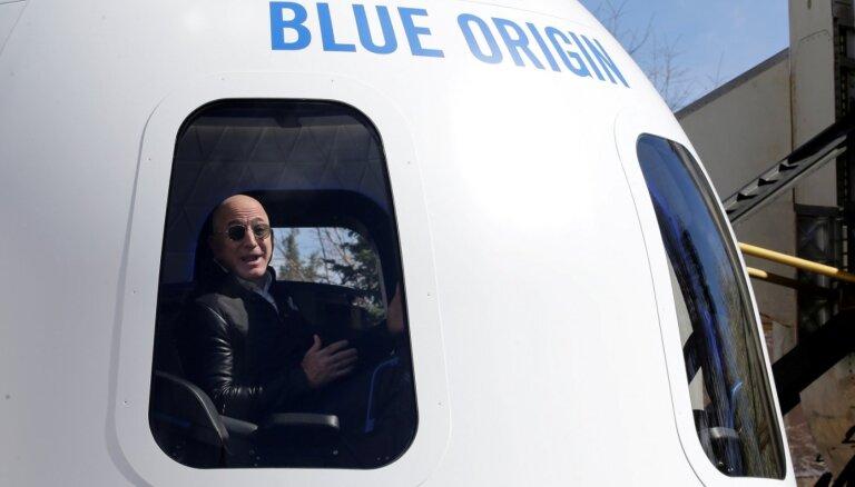 Миллиардер Безос успешно слетал в космос на ракете New Shepard