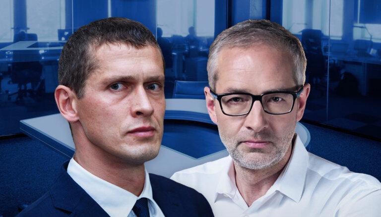 Tiesiskums vai politiskā izrēķināšanās? — 'Delfi TV ar Jāni Domburu' atbildēs Kalnmeiers un Jurašs