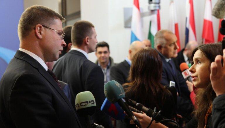Dombrovskis - viens no diviem reālākajiem kandidātiem uz EK prezidenta amatu